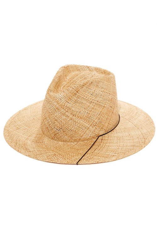 Janessa Leone Jeanne Hat in Natural