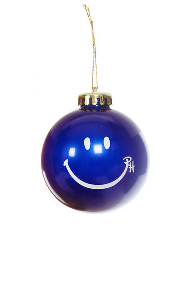 Ron Herman Exclusive Navy Happy Face Ornament