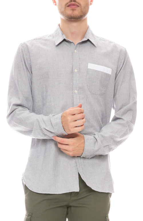 Special Striped Pocket Shirt