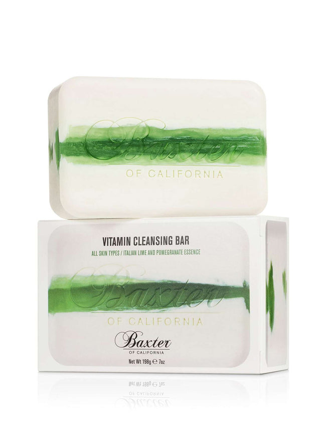 Vitamin Cleansing Bar in Italian Lime Pomegranate