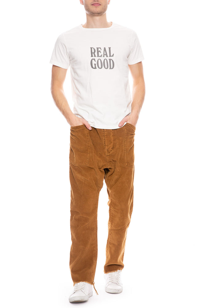 Drop Crotch Corduroy Pants