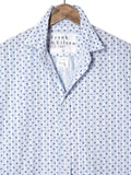 Mens Paul Heathered Italian Stars and Stripes Shirt