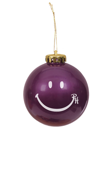 Ron Herman Exclusive Purple Happy Face Ornament
