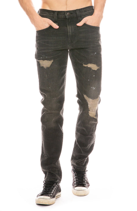 Boy Jean in Milo Black