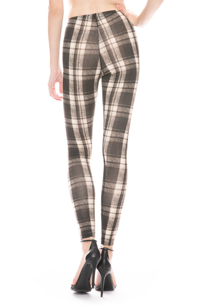 Plaid Leggings