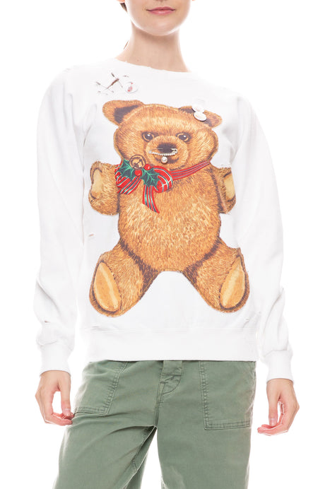Teddy Bear Crew Neck Sweatshirt