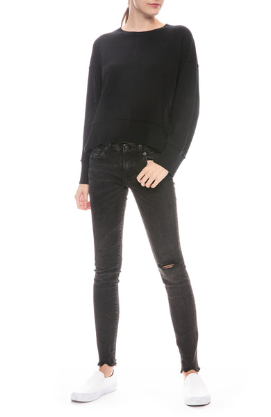 Kate Skinny Jean in Ezra Black