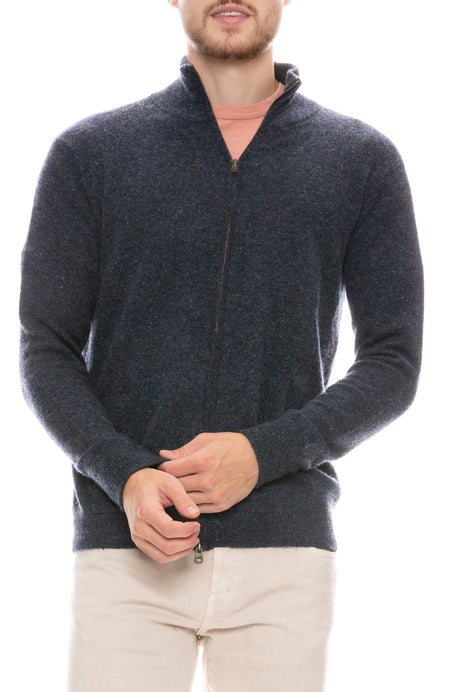 Exclusive Mock Neck Cashmere Sweater