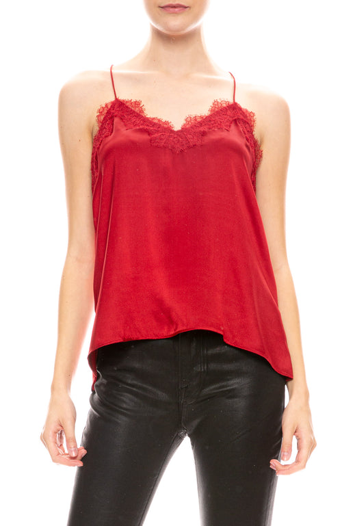 Racer Charmeuse Camisole