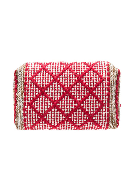 Bag of Tricks Clutch in Red