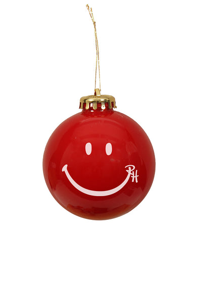 Ron Herman Exclusive Red Happy Face Ornament