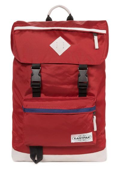 Eastpak Rowlo Backpack in Into Red Retro