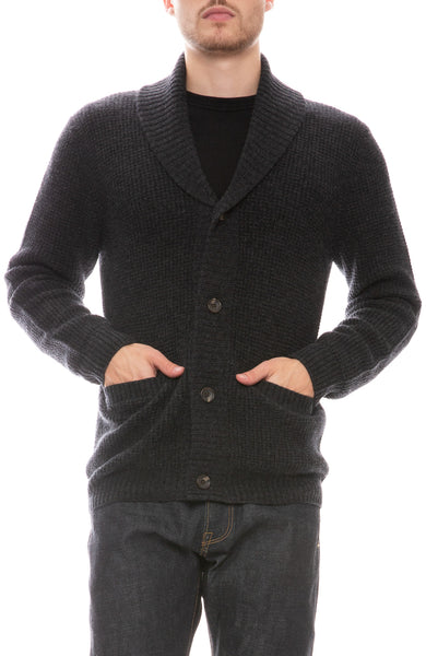 Exclusive Cashmere Shawl Collar Cardigan