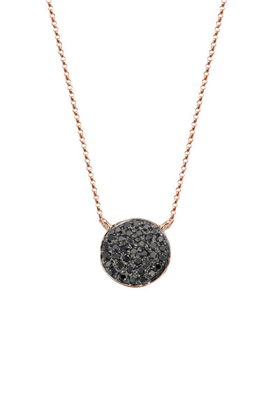 Night / Day Pave Diamond Necklace