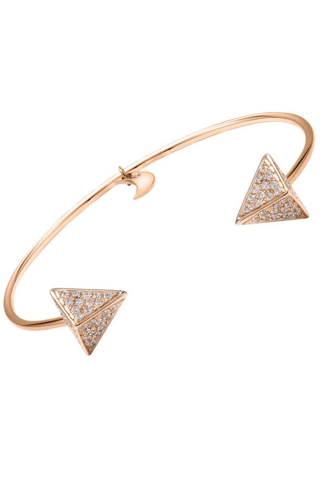 Diamond Pyramid Cuff