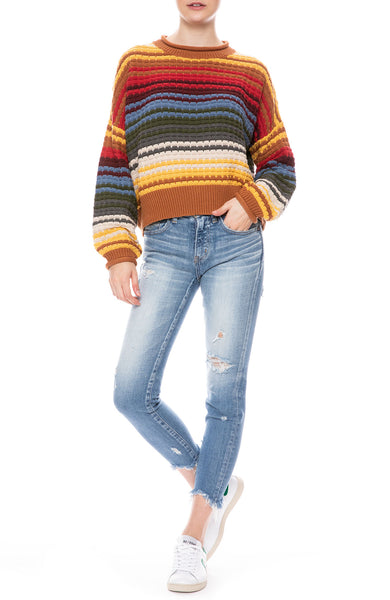Savanna Stripe Sweater