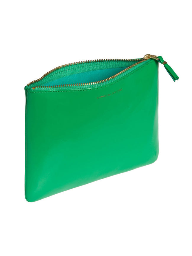 Classic Leather Zip Pouch