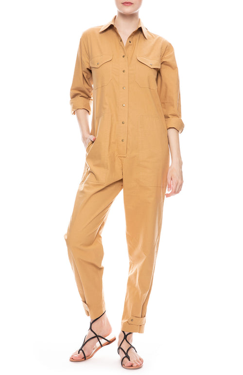 Lou Jumpsuit in Dune