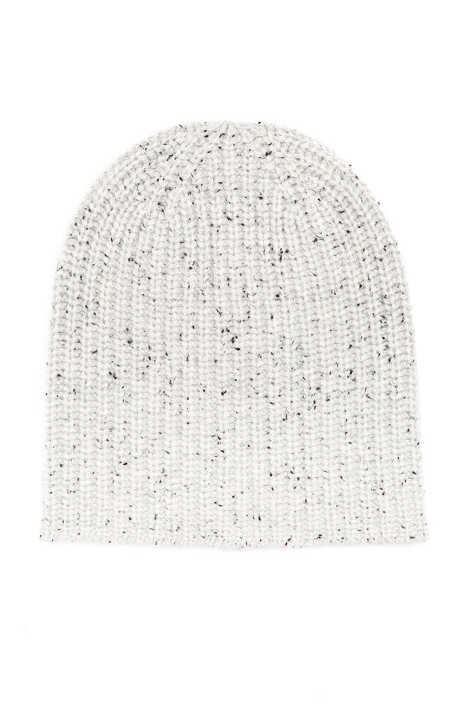 Alex Mill Cashmere Donegal Beanie in Silver at Ron Herman