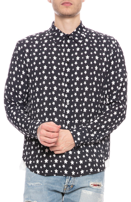 Viscose Star Printed Shirt