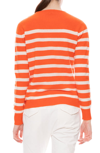 Cashmere Skate Stripe Sweater