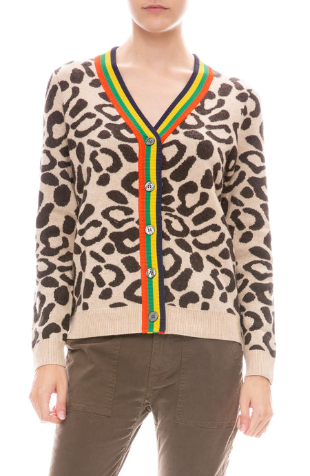 The Cat Leopard Cardigan