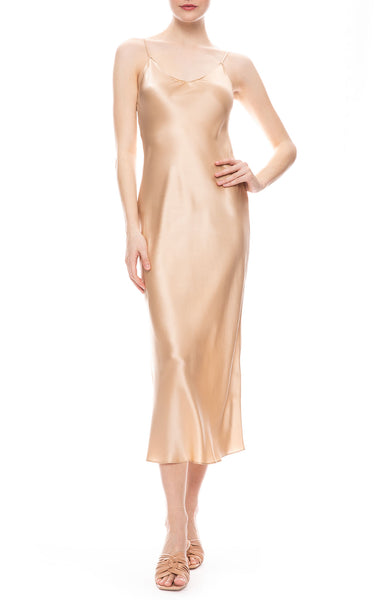 Taylor Silk Slip Dress