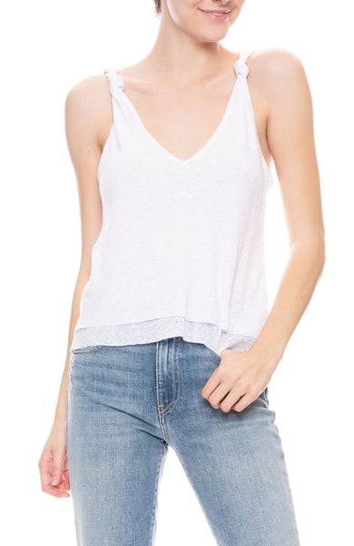 Double Knit Knot Tank