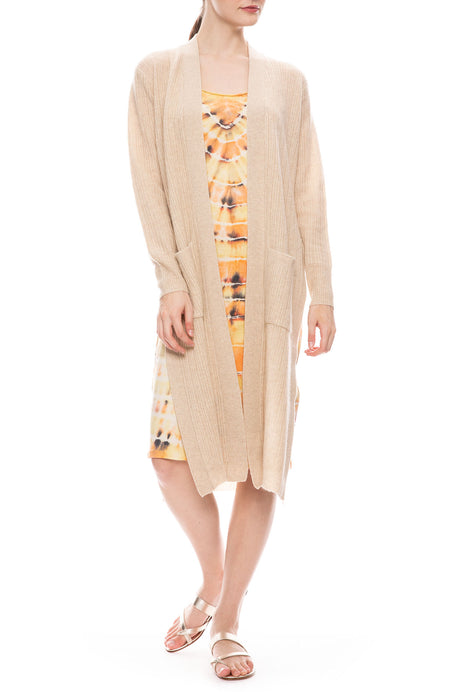 Thea Side Slit Cardigan