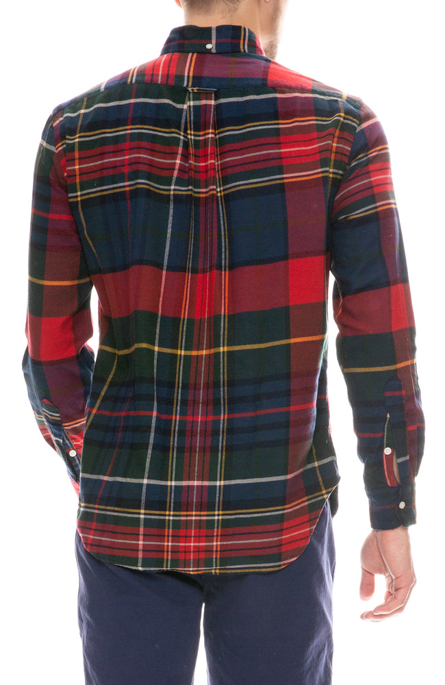 Big Check Flannel Shirt