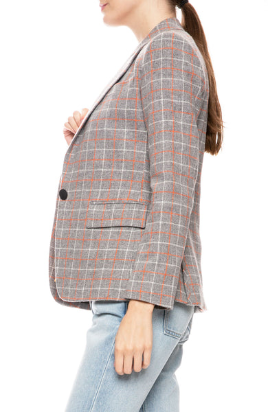 Rylie Checker Blazer