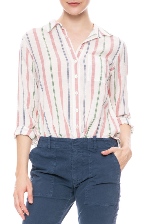 Ashton Striped Shirt in Eastbound