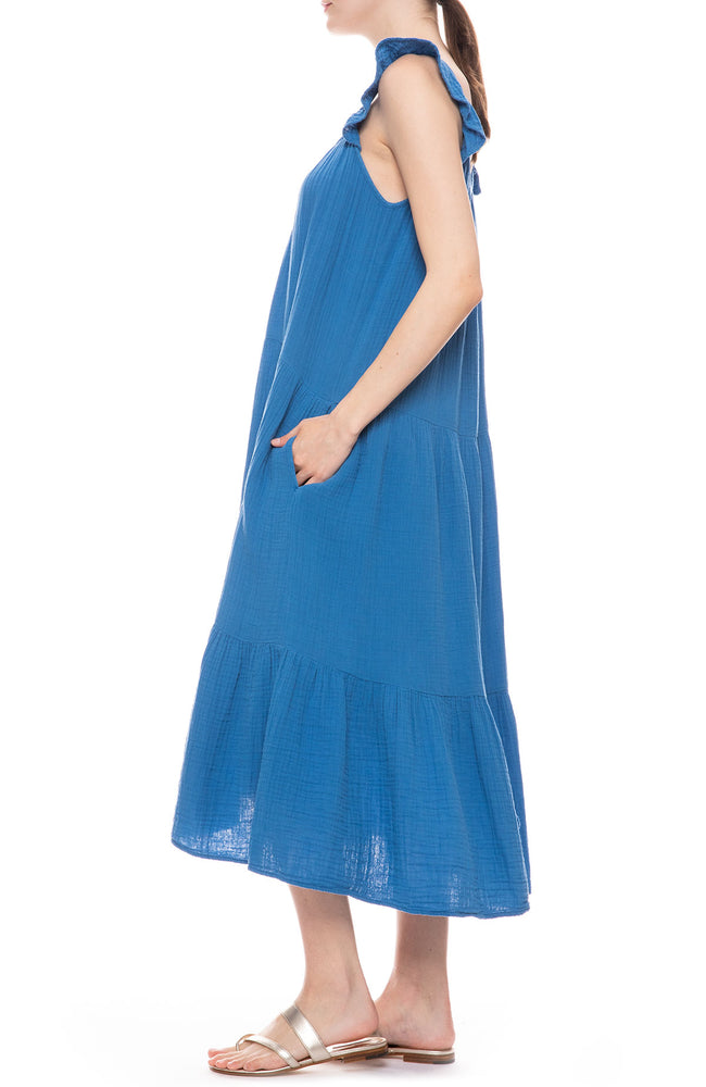 Rumer Tiered Gauze Dress