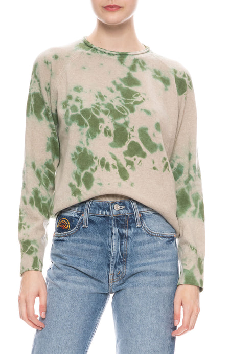 Forest Tie Dye Sweater