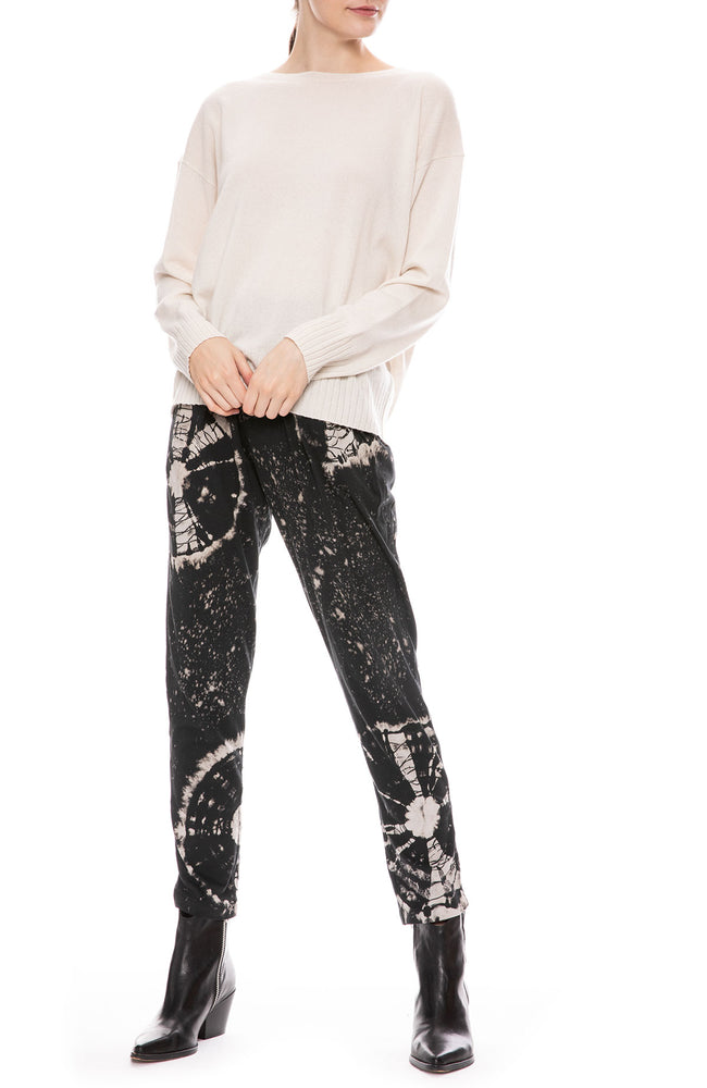 Black Constellation Easy Pant