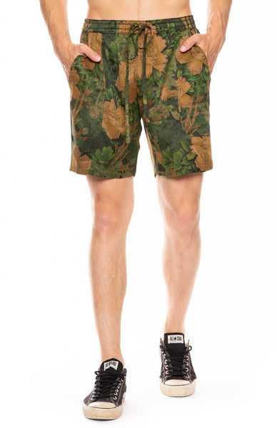 Jungle Silk Lounge Shorts