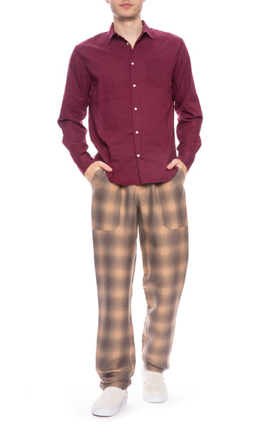 Plaid Lounge Pants