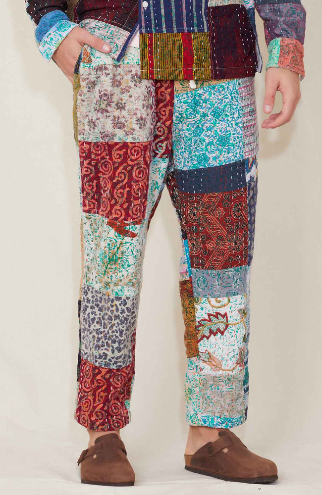 Quilted Leisure Pants