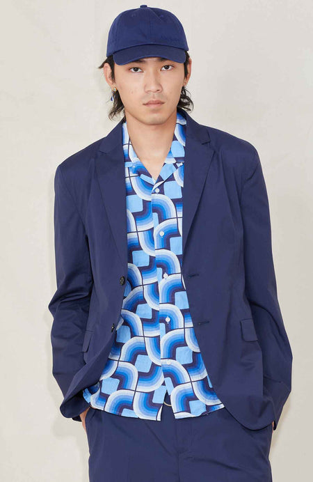 Antibes Wash Cotton Suit Jacket