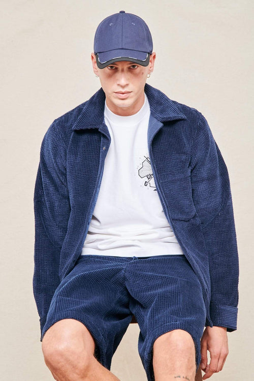 ACNE STUDIOS SHIRT NAVY / 46 Denver Corduroy Shirt Image