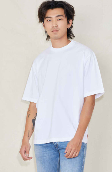 ACNE STUDIOS T-SHIRT OPTIC WHITE / S Escar Pink Label Box T Image