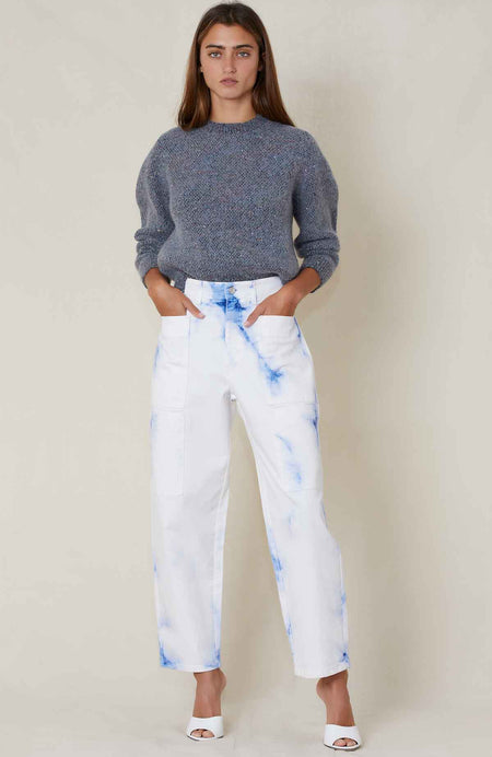 Eco White Wash Jean