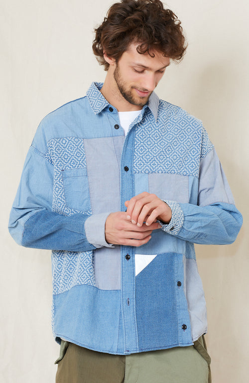 Boro Patchwork  Shirt  3 Year Wash