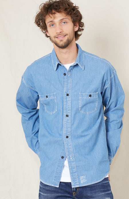 Sashiko Denim Shirt