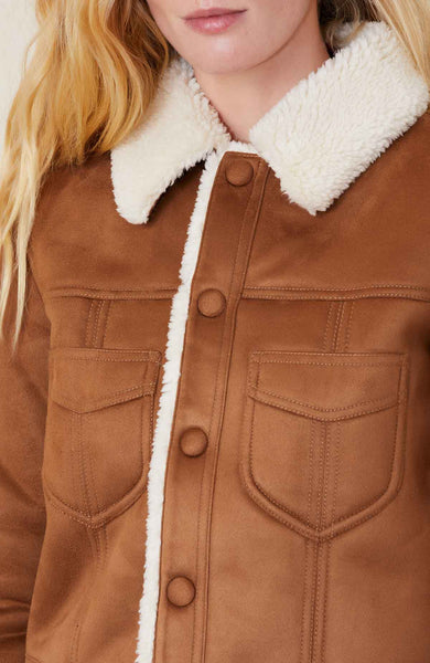 The Curved Pocket Aviator Jacket