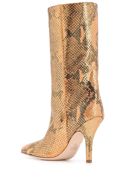 PARIS TEXAS Lame Shimmer Midi Boot