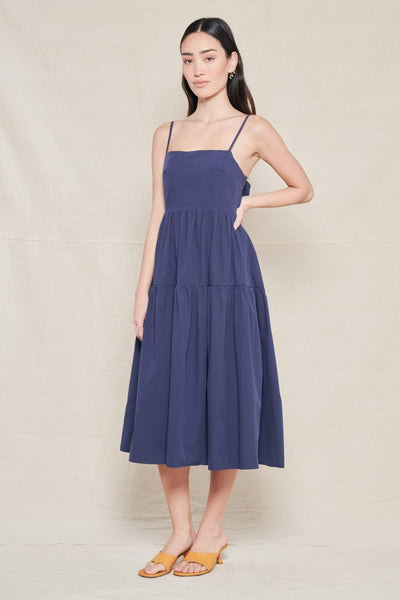 CIAO LUCIA DRESS NAVY / XS Gioia Dress Image