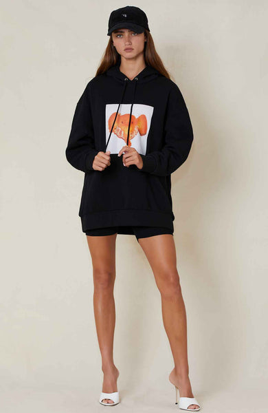 STELLA MCCARTNEY ELEPHANT TANGERINE SWEATSHIRT