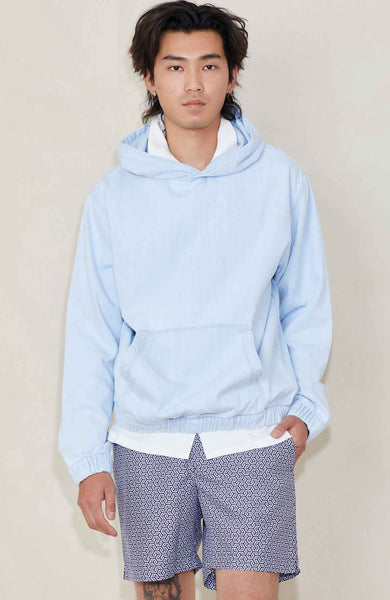 CLOSED Hooded Denim Pullover