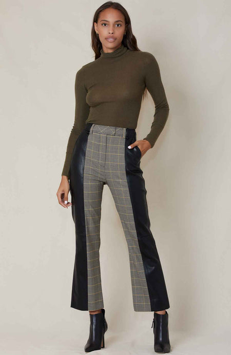 Mix Wool Two Tone Pant